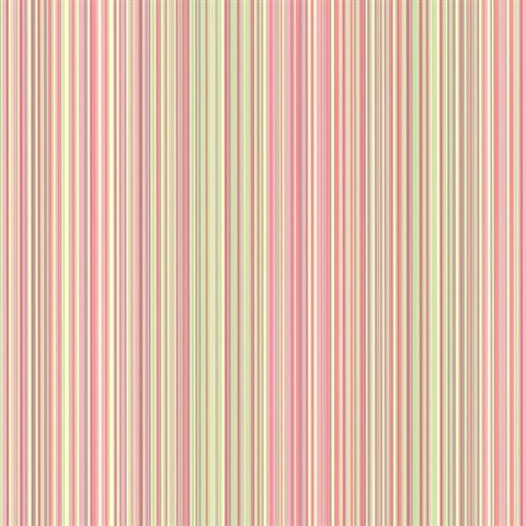 Wells Pink Candy Stripe