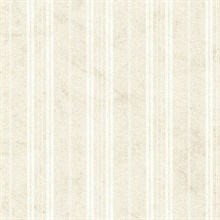 Wiscasset Cream Farmhouse Stripe