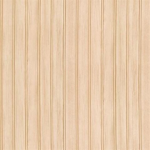 Montana Taupe Wood Panel Wallpaper