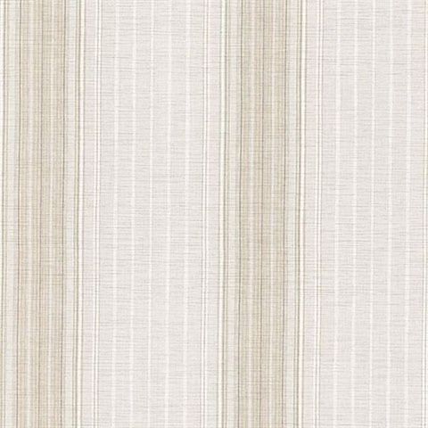 Natuche Light Grey Linen Stripe