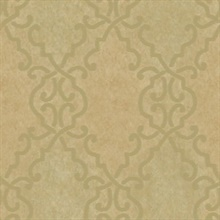 Bernaud Gold Persian Diamond Wallpaper