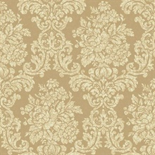 Illume Gold Damask Wallpaper