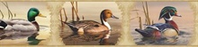 Winning Cream Waterfowl Portrait Blocks Border
