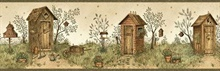 Twain Sand Garden Outhouse Portrait Border
