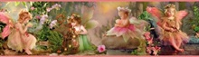 Esmeralda Pink Fairyland Portrait Border