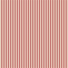 Beige & Red Stripe