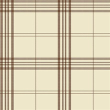 Brown & Beige Plaid