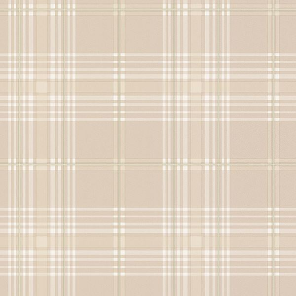 Beige Green Amp White Plaid Kv27421