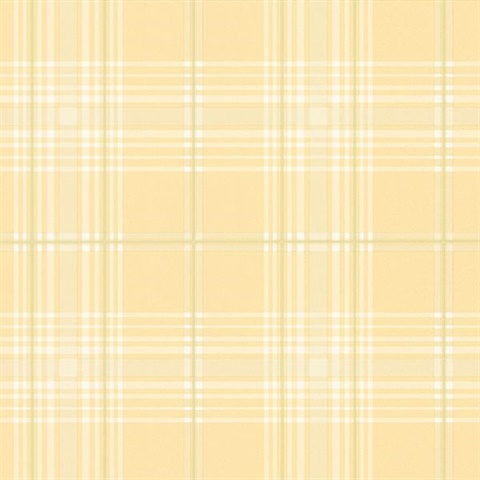 Yellow & Green Plaid