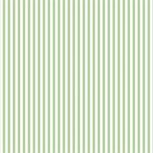 Green & Whte Stripe