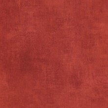 Red Faux Linen