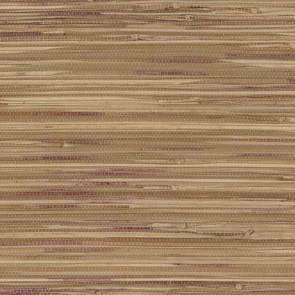 Red Grasscloth Wallpaper: Brown & Red Grasscloth