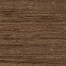 Dark Brown Glittered Grasscloth