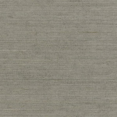 Grey Weaved Grasscloth