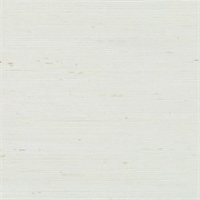 White Weaved Grasscloth