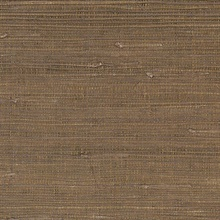 Brown Glittered Grasscloth