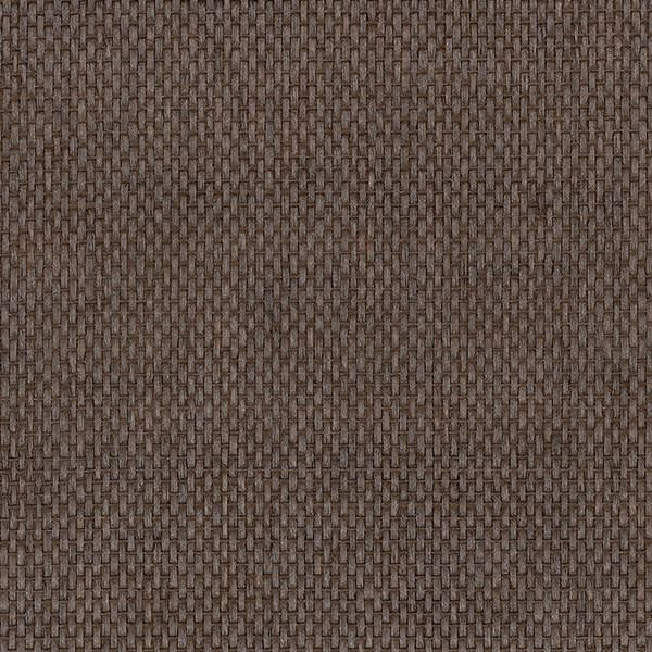 Dark Brown Shimmer Basketweave Grasscloth 488 423 Designer