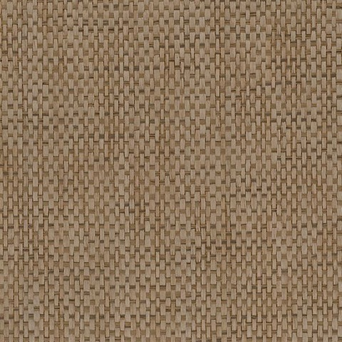Tan Basketweave Grasscloth