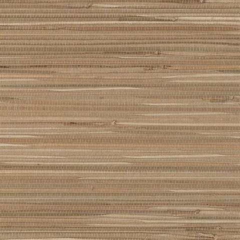 Brown Large Woven Grasscloth
