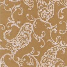 Monireh Gold Fish Paisley