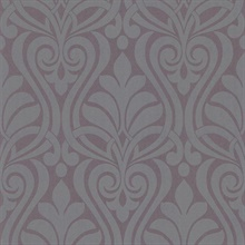 Amiya Purple New Damask
