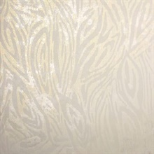 Tempest Champagne Abstract Zebra