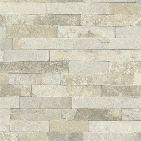Faux Tile Vinyl - Faux limestone tile