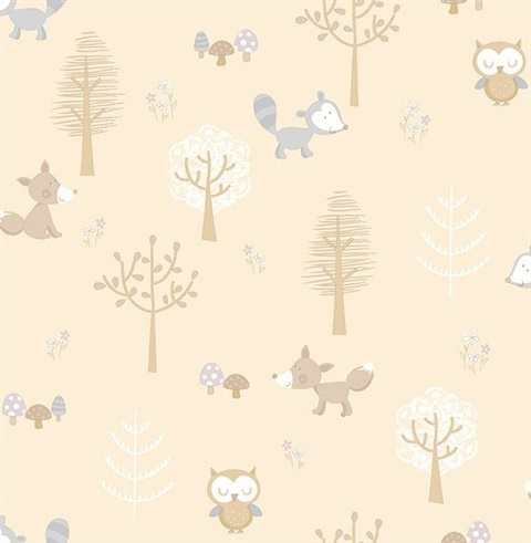Forest Friends Taupe Animal | 2679-002108