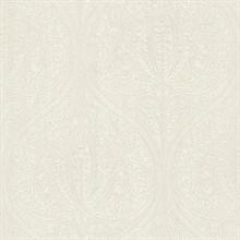 Paolina Champagne Embossed Large Damask