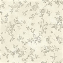 French Nightingale Cream Toile