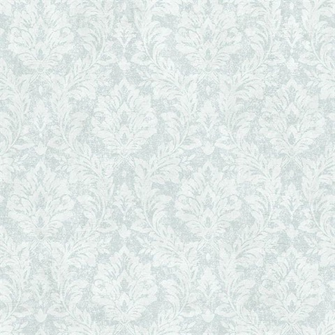 Cottage Blue Damask