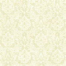 Cottage Green Damask