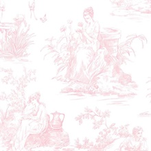 Women In Garden Toile