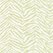 Mia Green Faux Zebra Stripes