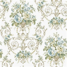 Classical Floral Damask