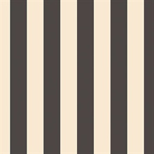 Black & Off White Stripe