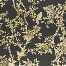 Marlowe Floral Gilded Lacquer