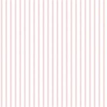 Nautical Kitchen Stripes Pale Pink
