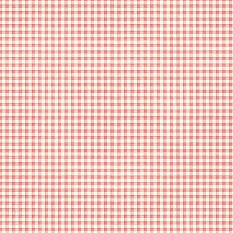 Picnic Table Plaid Red
