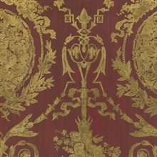 Abbeywood Damask Balmoral Red