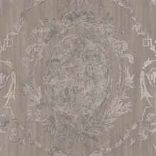 Abbeywood Damask Pewter