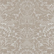 Delamere Damask Pewter