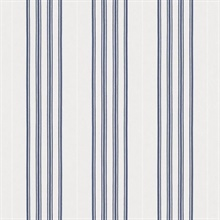 Palatine Stripe Porcelain Blue