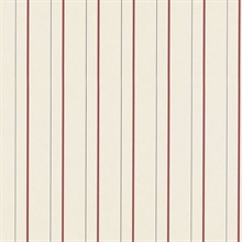 Tilford Stripe Cream/Red