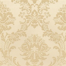 Brixham Raised Damask Gold