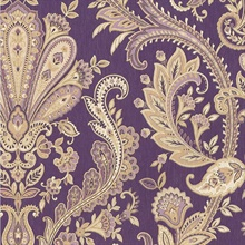 Modbury Paisley Purple