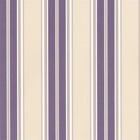 Chilton Stripe Purple
