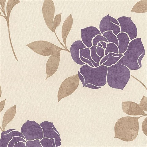 Leigh Roses Purple