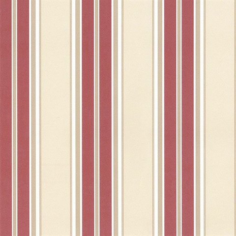 Chilton Stripe Red