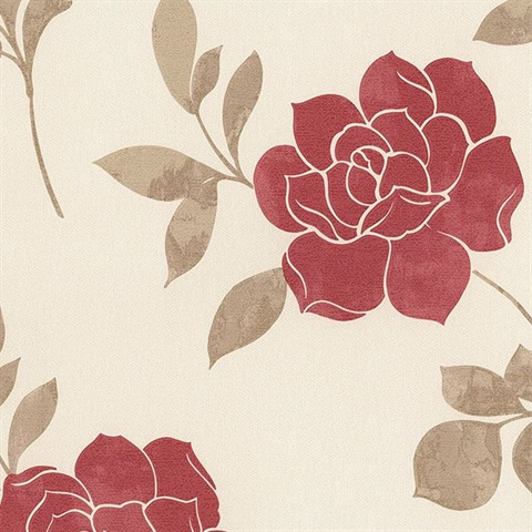 Leigh Roses Red